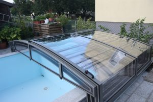 Aluroof model Compact - basen odkryty