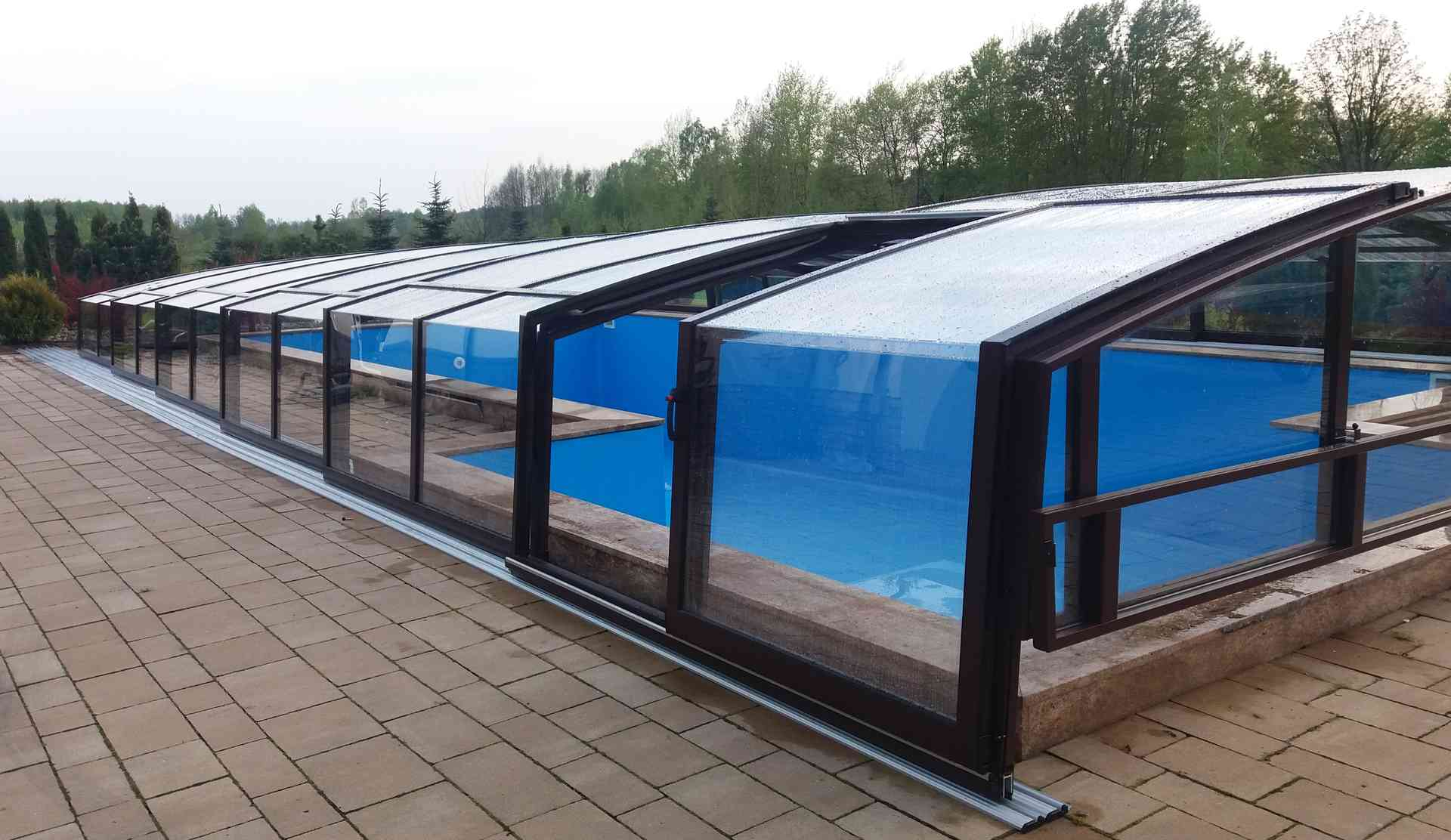 Roof pool - Compact - Aluroof